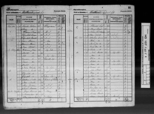 Caswell1841census