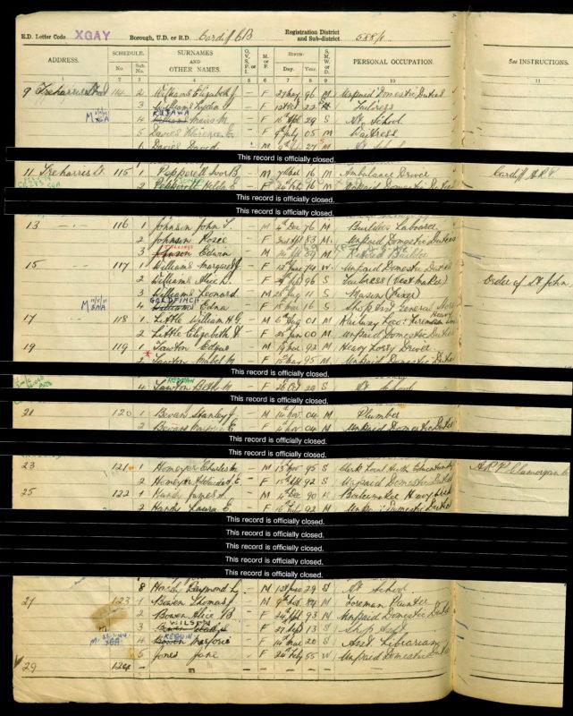 1939 Register Homeyer